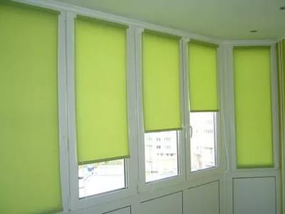 Рулонные шторы для балкона и лоджии №3