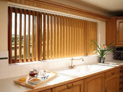 пластиковые вертикальные жалюзи на кухню