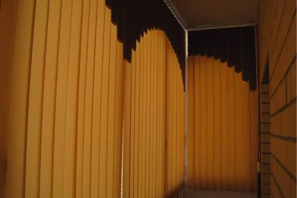 Жалюзи на балкон или лоджию №7