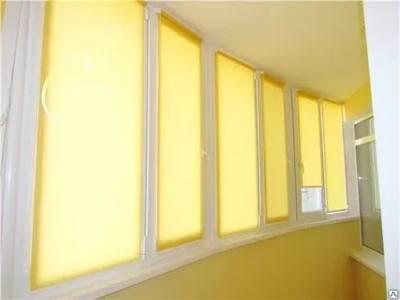 рулонные шторы на балкон или лоджию