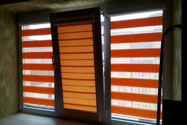 Жалюзи «День-Ночь» на окна №6