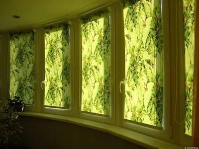 Рулонные шторы для балкона и лоджии №5