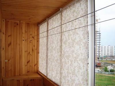 рулонные шторы для балкона или лоджии