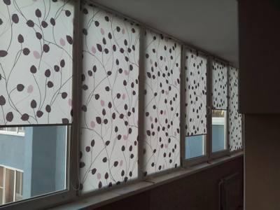 Рулонные шторы для балкона и лоджии