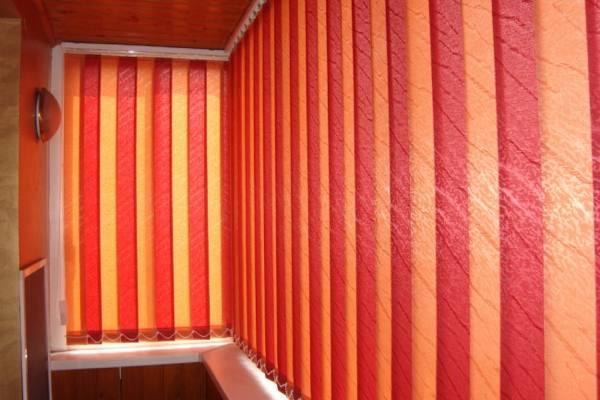 Жалюзи на балкон или лоджию №6