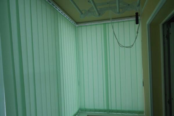 Жалюзи на балкон или лоджию №16