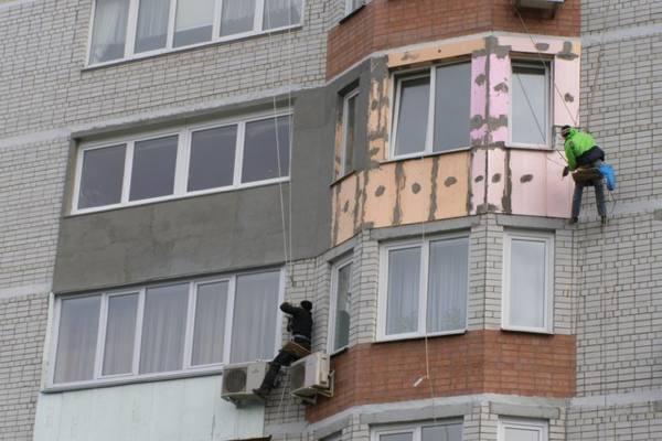 наружное утепление лоджии и балкона