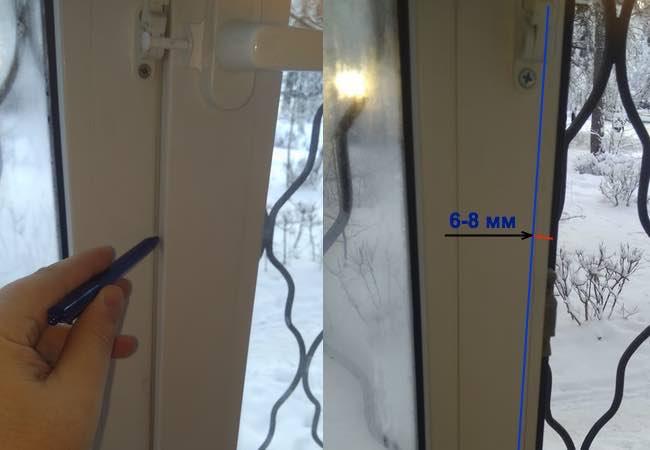 Регулировка балконной двери своими руками №2