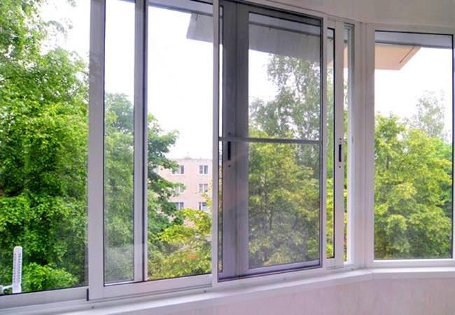 алюминиевое остекление лоджии и балкона