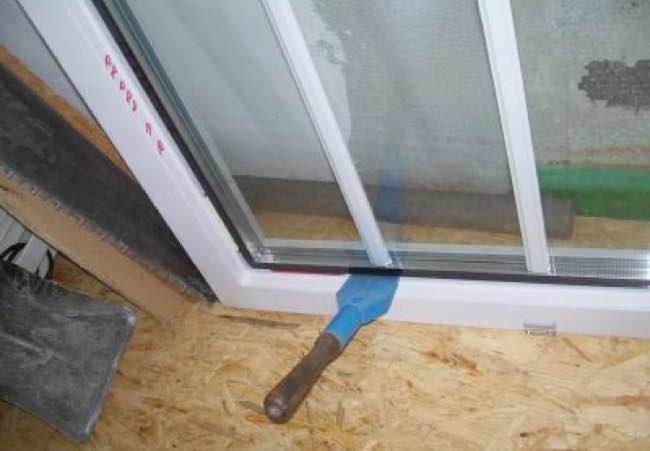 остекление пластикового окна