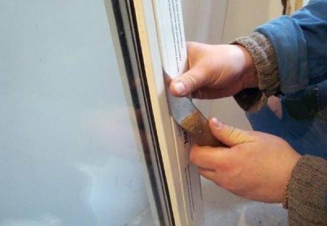 Замена стеклопакета в пластиковом окне №3