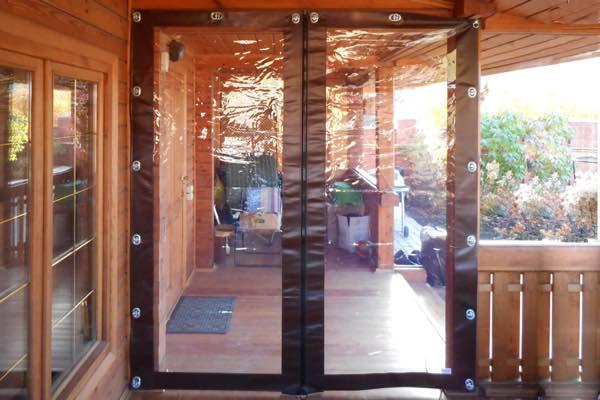 Мягкие двери ПВХ №4