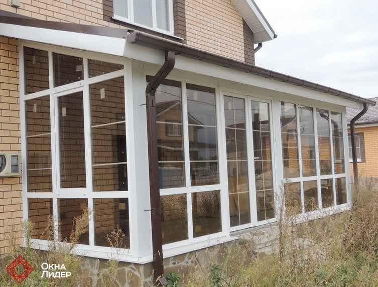 остекление террасы пластиковыми окнами в Серпухове, Чехове, Заокском